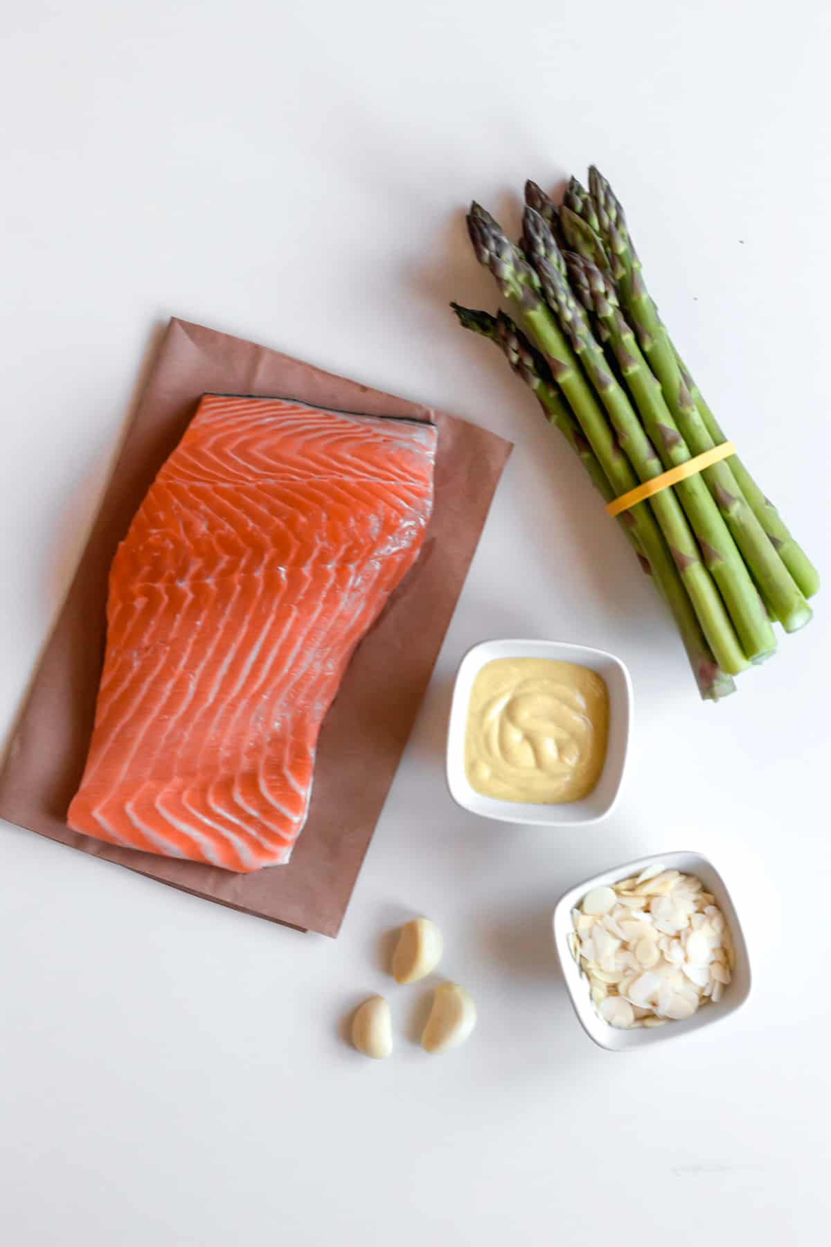 keto salmon and asparagus ingredients recipe